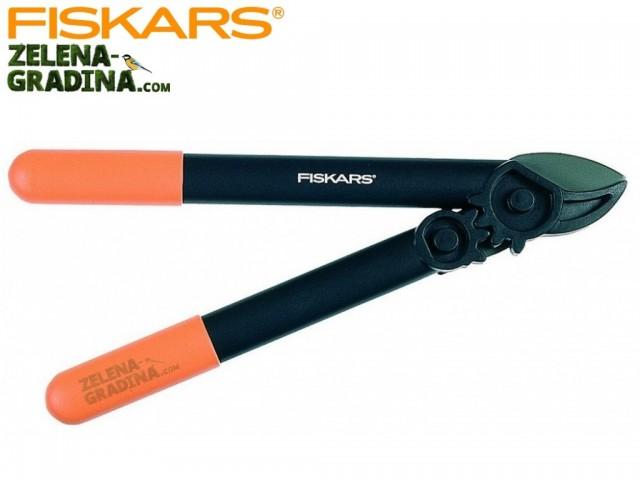 """FISKARS 112170 - Овощарска ножица за рязане на клони """"PowerGear"""", Зъбчат УСИЛВАЩ механизъм, Пресрещащи се остриета, Модел: L31, Дължина: 39 cm, Рязане на клони: до Ф 35 mm"""
