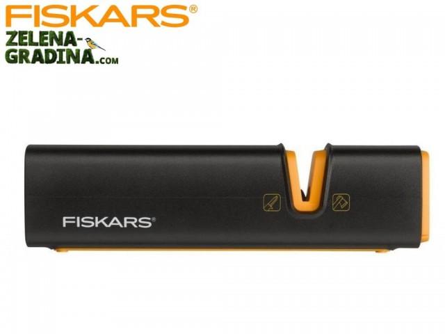 FISKARS 120740 - Точило за брадви и ножове с японски керамичен търкалящ се камък