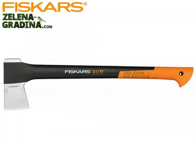 """FISKARS 122463 - Брадва за цепене на дърва """"X17 - M"""""""