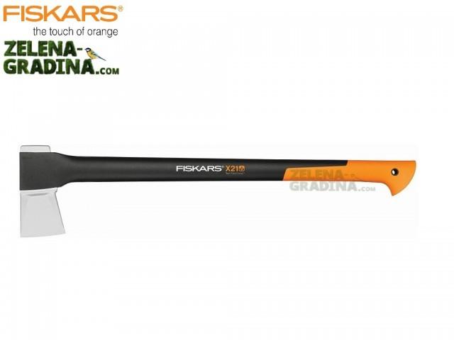 "FISKARS 122473 - Брадва за цепене ""X21 - L"", Дължина: 72 cm, Тегло: 1.57 кг"