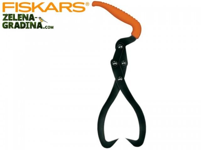"""FISKARS 126030 - Двойна кука за носене на дървени трупи """"WoodXpert"""", Дължина: 33 cm, Тегло: 458 гр"""