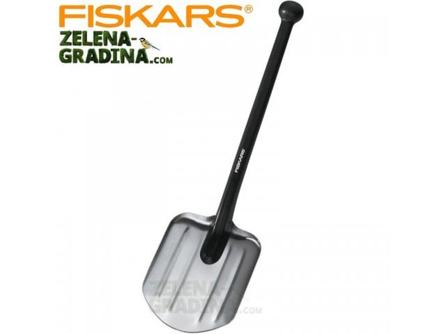 FISKARS 131520 - Лека и не потъваща лопата за къмпинг и кола, Дължина: 70 cm, Ширина: 20.7 cm, Тегло: 0.479 кг