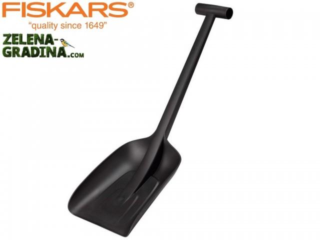 """FISKARS 143073 - Къса и лека лопата за кола """"SOLID"""", Дължина: 63 cm, Тегло: 0.5 кг"""