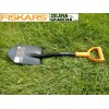 FISKARS PS2500/131417 - Универсална къмпинг лопата за сняг и почва, Дължина: 79 cm, Ширина: 18 cm, Тегло: 1.35 кг