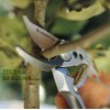 """GARDENA 08702-20 Професионална лозарска ножица с разминаващи се остриета """"PREMIUM"""", Алуминиеви дръжки, Рязане на клони: до Ф22 mm"""