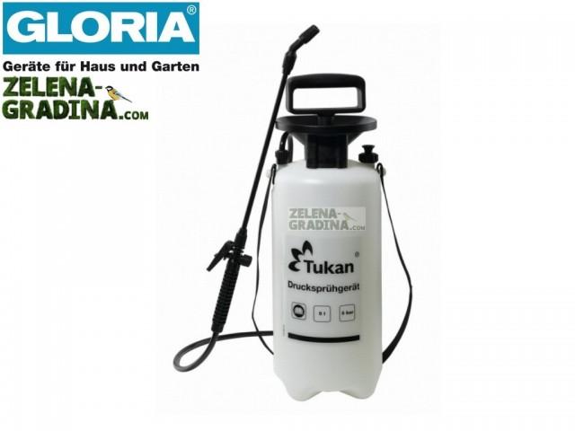 """GLORIA 000010 - Пулверизатор """"GLORIA Tukan 5"""", Обем: 5.0 L, Тегло: 2.40 кг"""