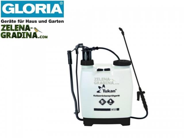 """GLORIA 000052 - Гръбна пръскачка """"GLORIA Tukan 1600"""", Обем 16L, Тегло 3.91 кг"""