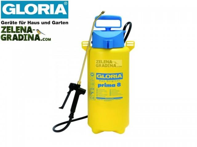 """GLORIA 000082.0000 - Ръчна пръскачка """"GLORIA PRIMA 8"""", Обем: 8.0 L, Тегло: 2.30 кг"""
