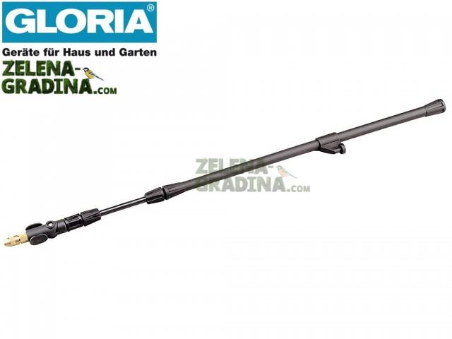 """GLORIA 000122.0000 - Телескопична пластмасова тръба с дюза за пръскачки на """"GLORIA"""", Дължина: 0.58 - 1.0 m"""