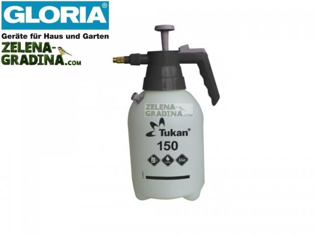 """GLORIA 000129 - Пулверизатор """"GLORIA Tukan 1.5"""", Обем 1.5 L, Тегло: 0.60 кг"""