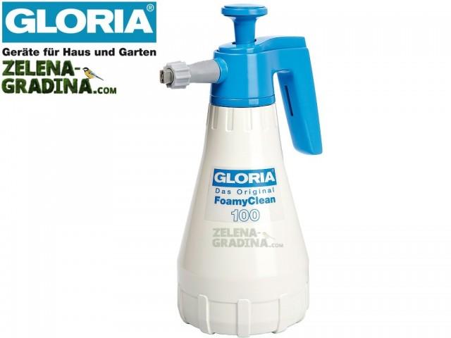 "GLORIA 000650.0000 - Пулверизатор за пяна модел ""FoamyClean 100"", Обем: 1.0 L"