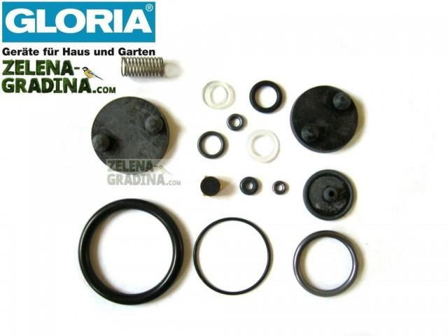 """GLORIA 707360.0000 - Комплект уплътнения за пръскачки на """"GLORIA"""", за модели: 42, 229S, 229T и 229TS"""