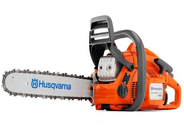 """HUSQVARNA 967187745 - Моторен трион HUSQVARNA 440 II-15"""", Мощност: 1.8 kW / 2.4 HP, Обем на двигателя: 40.9 cm³, Дължина на шината: 38 cm, Тегло: 4.5 kg"""