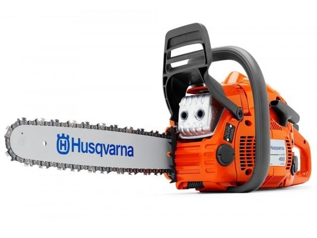 """HUSQVARNA 967156935 - Моторен трион HUSQVARNA 450E II-15"""", Мощност: 2.4 kW / 3.2 HP, Обем на двигателя: 50.2 cm³, Дължина на шината: 38 cm, Тегло: 5.1 kg"""