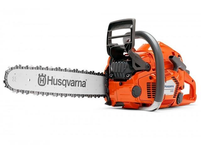 """HUSQVARNA 966648538 - Моторен трион HUSQVARNA 545-18"""" AUTOTUNE, Мощност: 2.5 kW / 3.4 HP, Обем на двигателя: 50.1 cm³, Дължина на шината: 45 cm, Тегло: 4.9 kg"""