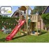 """KBT 106129 - Детска пързалка/улей """"TSURI"""", За монтаж на платформа от височина 1.50 m, Обща дължина: 2.90m, Максимално натоварване: до 70 кг, Цвят: Лилав"""