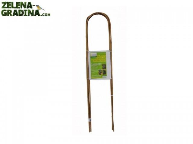 GBL 80935 - Извити бамбукови колчета, 3 броя в опаковка, Диаметър: 14-16 mm, Дължина: 150 cm