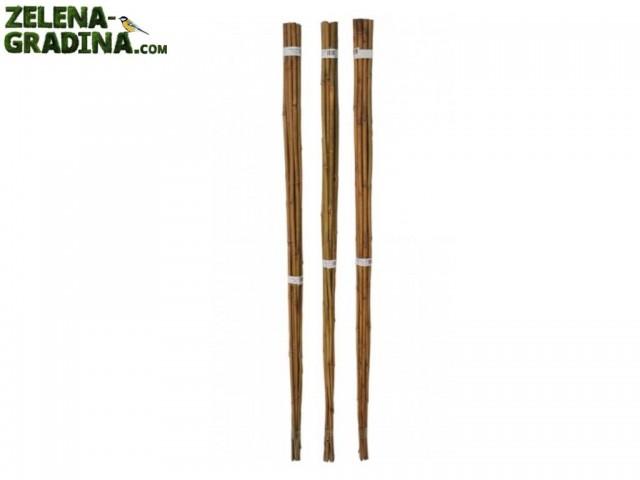 GBL 80850 - Бамбукови колчета, 20 броя, Диаметър: 8-10 mm, Дължина: 150 cm