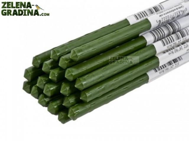 CSP-11-1200 - Пластмасов стълб с метална сърцевина за увивни растения, Диаметър: Ф11 mm, Дължина: 120 cm