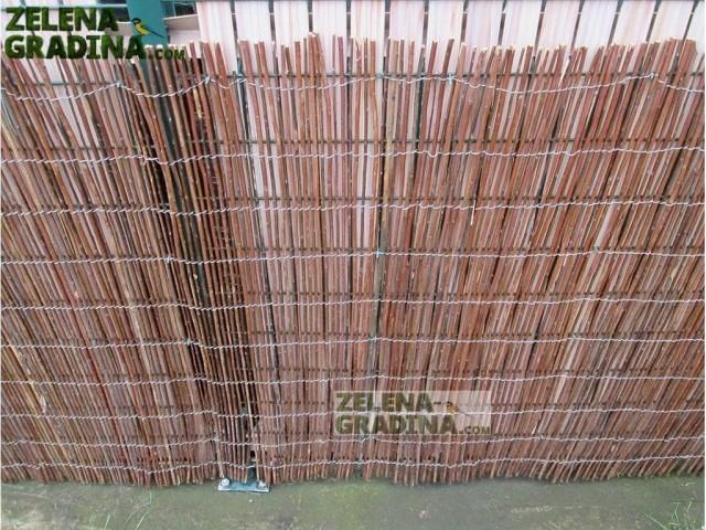 """MZ 120A150 Естествено покривало за огради тип """"ВЪРБА""""; Височина H=1.5 x дължина L=3.0 m"""