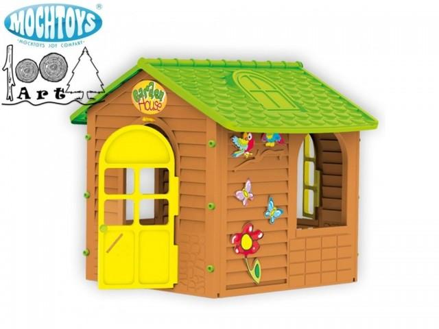 MOVHTOYS 10830 - Градинска къща малка, Размери: 120x122x120.5 cm, Тегло: 16 кг