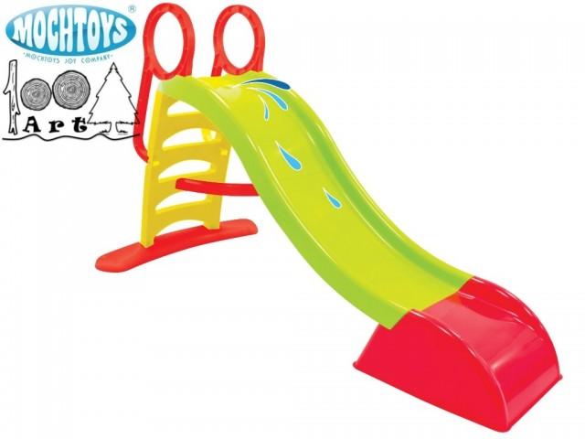 MOCHTOYS 10832 - Детска пластмасова пързалка, Размери: 180x84x110 cm, Тегло: 7,85 кг