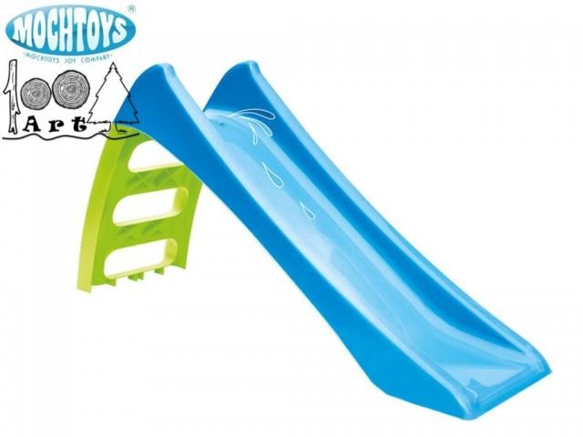 MOCHTOYS 11050 - Детска сгъваема пластмасова пързалка, Малка, Размери: 62.5x116x36 cm, Дължина на улея: 116 cm