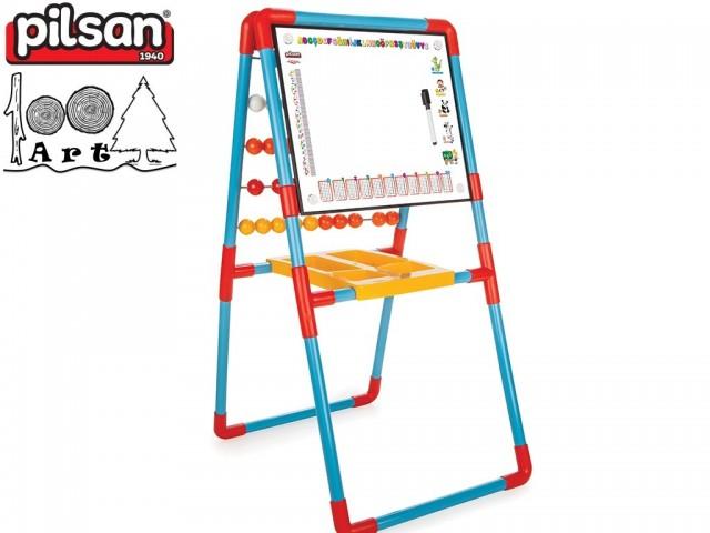 PILSAN 03407 - Детска дъска за рисуване + сметало, Размери: 39x50x63 см, Тегло: 3.40 кг