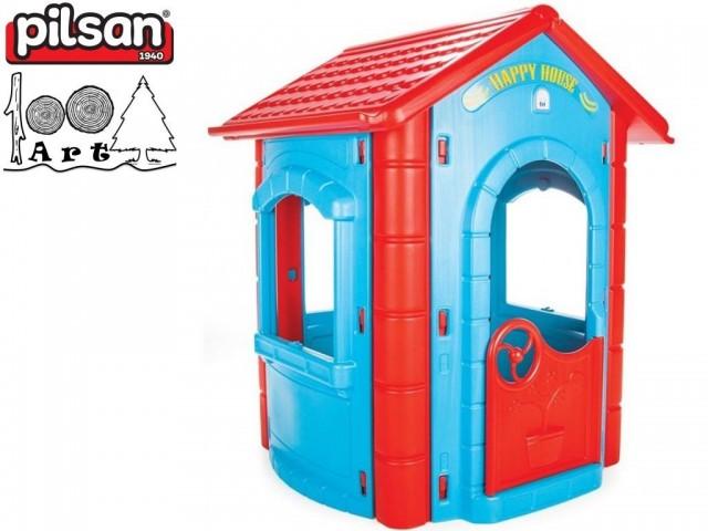 PILSAN 06098 - Градинска къща малка, Размери: 131x112x104.5 cm, Тегло: 15.90 кг