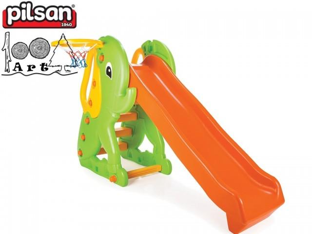 "PILSAN 06160 - Пързалка ""СЛОНЧЕ"", Размери: 112x181x93 cm, Тегло: 21 кг"
