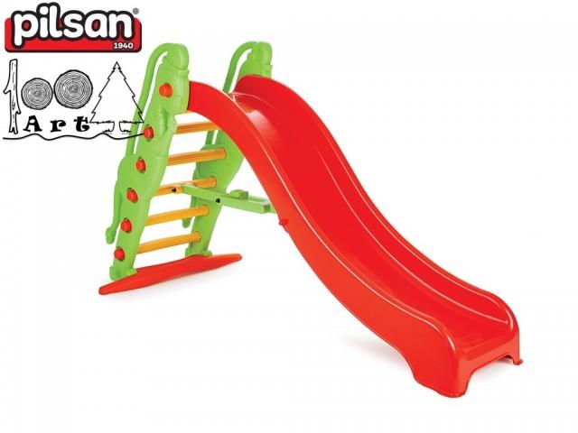 "PILSAN 06179 - Пързалка ""Маймунка"", Размери: 59.5x185x109 cm, Тегло: 10.5 кг"