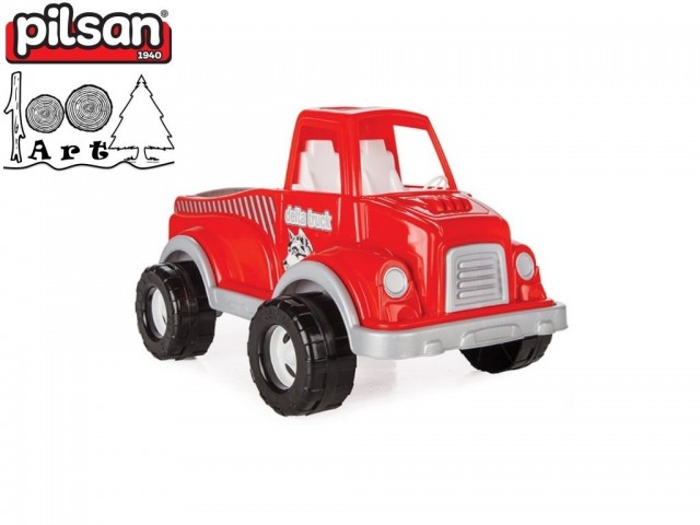 "PILSAN 06506 - Голям детски камион ""DELTA"", Размери: 35x60x38 см, Тегло: 2.10 кг"