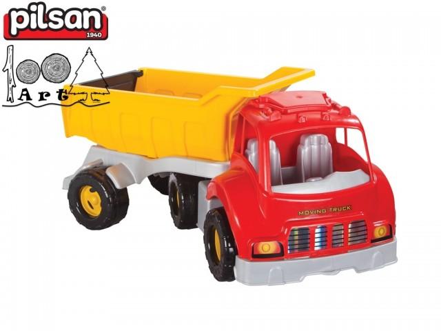 "PILSAN 06602 - Детски пластмасов камион ""Moving"", Тегло: 2.81 кг"