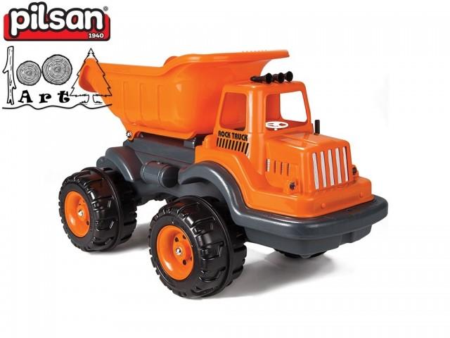 "PILSAN 06607 - Голям детски пластмасов камион ""ROCK"", Размери: 46x80x48 см, Тегло: 4.2 кг"