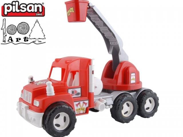 "PILSAN 06613 - Голям камион ""ПОЖАРНА"", Размери: 23x54x27 см, Тегло: 1.60 кг"