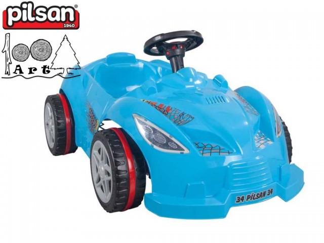 "PILSAN 07312 - Кола ""Speedy"", Цвят: Син, Размери: 49.5x109.5x60.5 см, Тегло: 5,40 кг"