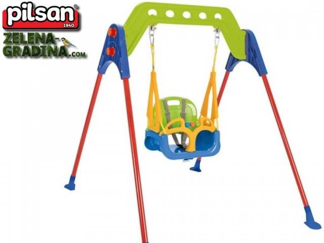 PILSAN 07968 - Детска люлка на стойка, Размери: 146,5x123.5x135 cm, Максимална товароносимост: 100 кг