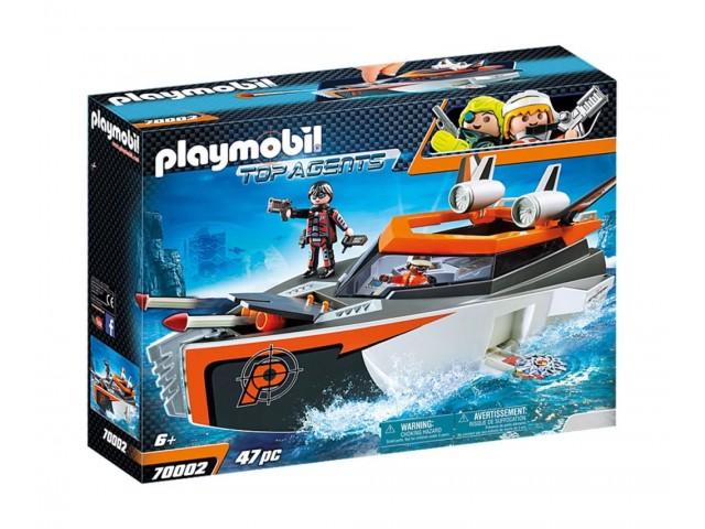 Playmobil 70002 - Шпионски екип Турбокораб
