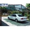 """TENAX 1A030238 - Висококачествени покривали за огради, балкони, тенти и тераси """"SOLEADO"""" на фирма TENAX-Италия; Плътност = 90%; Височина H=2.0 m x Дължина L=10 m, Цвят: зелен"""