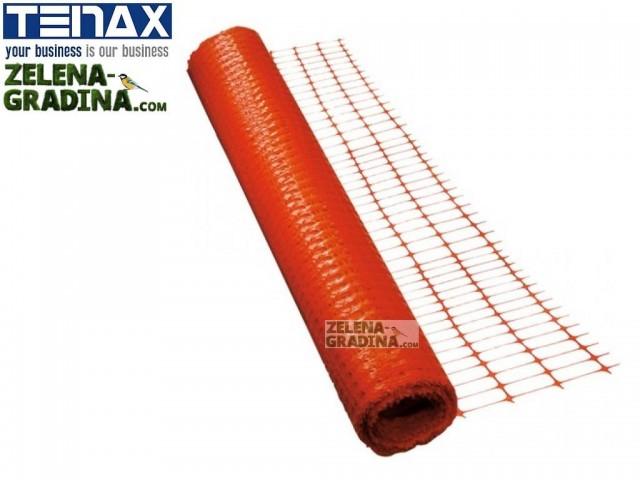 """TENAX 1A100633 - Висококачесвени СИГНАЛНО-МАРКИРОВЪЧНИ мрежи """"GRIFON"""" на фирма TENAX-Италия; Височина H=1.20 m x дължина L=50 m, Цвят: оранжев"""