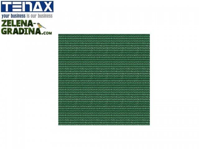 """TENAX 1A160300 - Висококачествени покривали за огради, балкони, тенти и тераси """"SHADING NET 40"""" на фирма TENAX-Италия; Плътност = 40%; Височина H=3.00 m x Дължина L=100 m, Цвят: Зелен"""