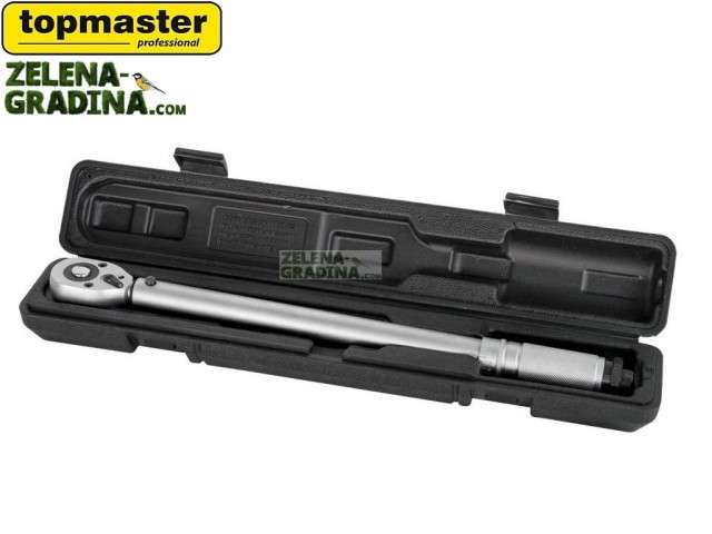 """TOPMASTER 331002 - Динамометричен ключ, Захват: 3/4"""", Сила на затягане: 70-420 Nm"""